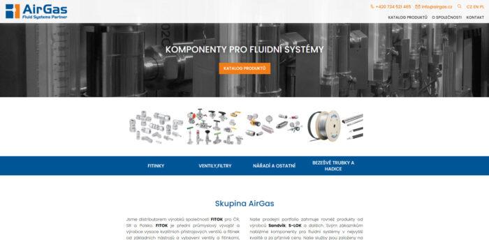 Web s napojením na informační systém